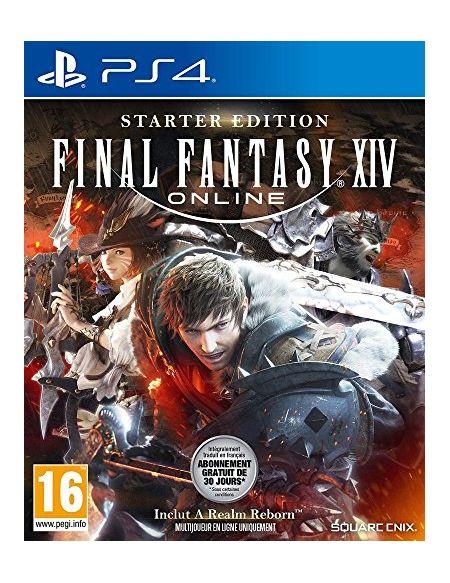 Final Fantasy XIV Online Edition Starter PS4