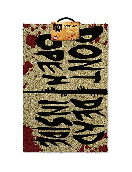 The Walking Dead GP85126 Tapis Brosse Multicolore 40 x 60 x 1,5 cm
