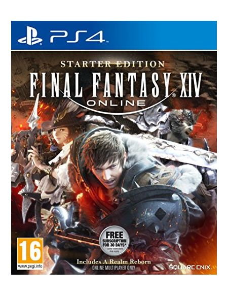 Final Fantasy XIV Online Starter Edition pour PS4 (New)