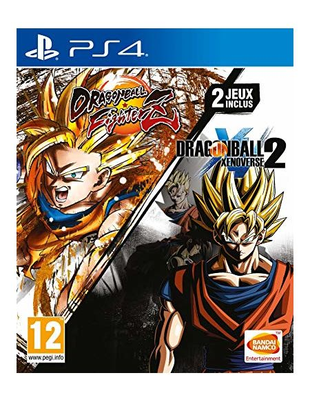 Dragon Ball Fighterz + Dragon Ball Xenoverse 2