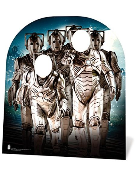 Star cutouts - Stsc661 - Figurine Géante Passe-Tête - Cyberman - Doctor Who