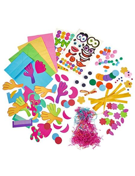SIMBA 106306085 Creative Set Art & Fun – Papier marionnettes
