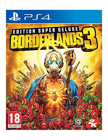 Borderlands 3 Edition Super Deluxe PS4