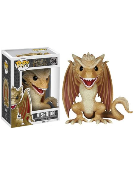 Figurine Pop! Dragon Viserion - Game of Thrones 15 cm