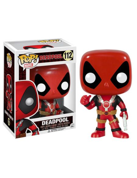 Figurine Pop! Deadpool Pouce en l'Air Marvel