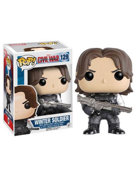 Figurine Pop! Vinyl Captain America : Le Soldat de l'hiver Marvel