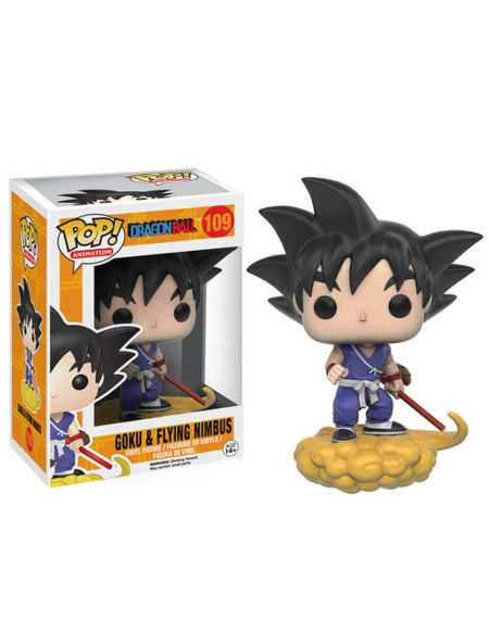 Figurine Pop! Dragon Ball Goku et Nimbus