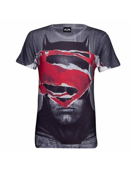 T-Shirt Homme DC Comics Superman Tear - Gris - S - Gris