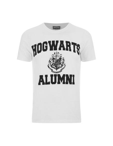 T-Shirt Homme Harry Potter Poudlard Alumni - Blanc - S - Blanc