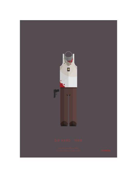 Affiche Costume Die Hard - 35,5 cm x 28 cm
