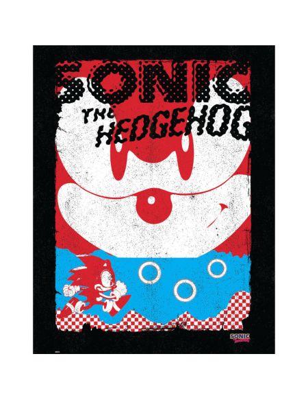 Affiche Sonic le Hérisson 'ART' - Fine Art