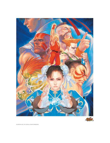Affiche Street Fighter That's Good Kung - Fu ! - Fine Art
