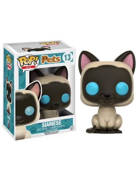Figurine Pop! Pets Chat Siamois Funko Pop!