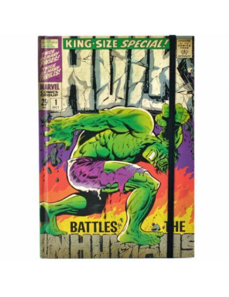 Carnet A5 Hulk