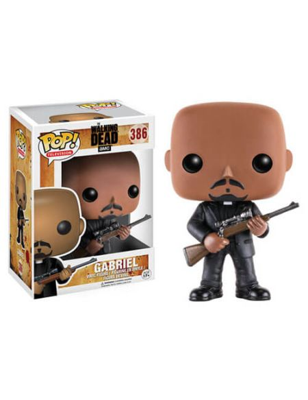 Figurine Pop! Gabriel The Walking Dead