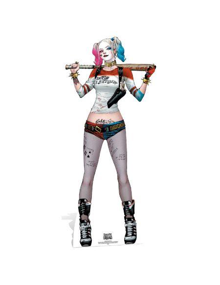 Silhouette Découpée en Carton Suicide Squad Harley Quinn