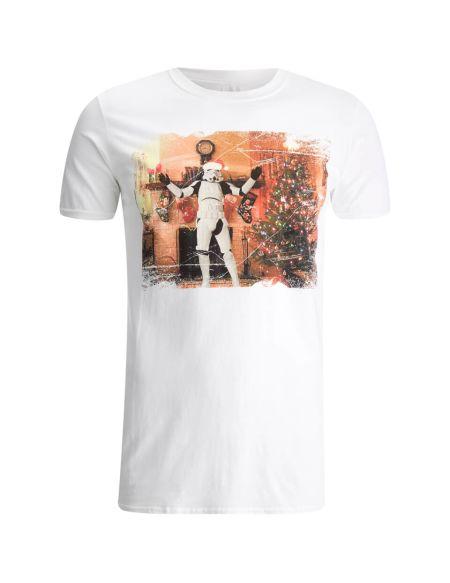 T-Shirt Homme Stormtrooper Tree - Blanc - XXL - Blanc