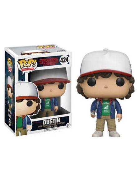 Figurine Pop! Dustin avec Compas Stranger Things