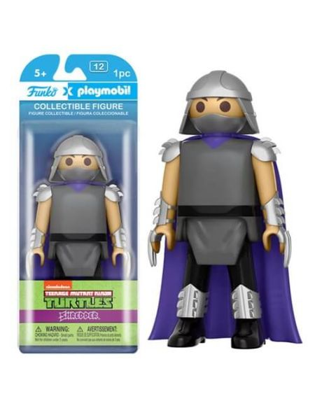 Figurine Funko x Playmobil : Les Tortues Ninja - Shredder