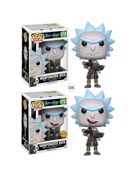 Figurine Pop! Rick Armé - Rick et Morty