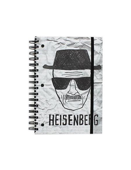 Carnet Breaking Bad A5 Heisenberg