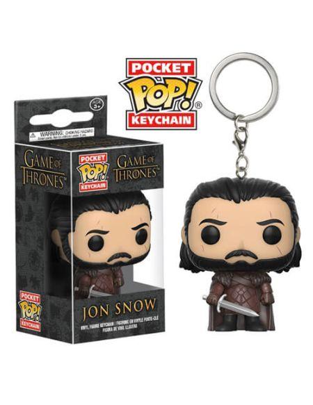 Porte-Clef Pocket Pop! Jon Snow - Game of Thrones
