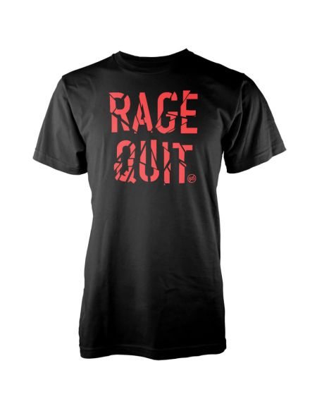 T-Shirt Homme Gaming Rage Quit - Noir - S - Noir