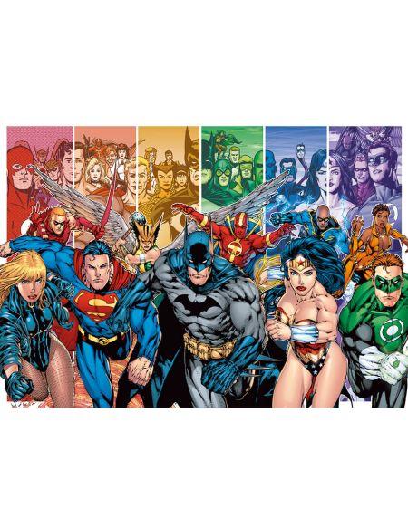 Toile Imprimée DC Comics Justice League America Generations 85 x 120 cm