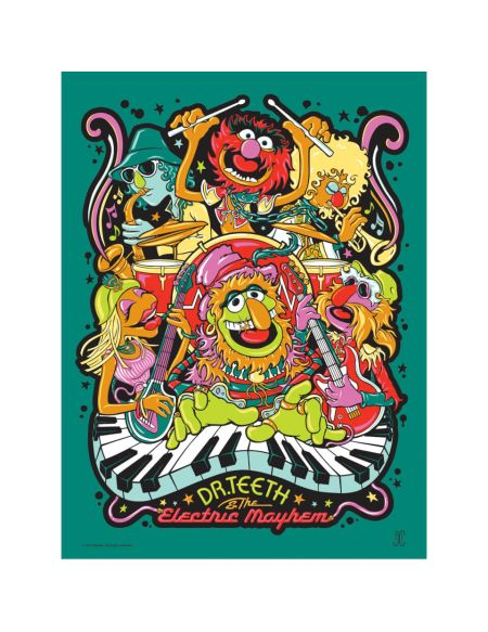 Affiche de Collection de James Carroll - Disney - The Muppets/Dr. Teeth Disney (457mm x 610mm)