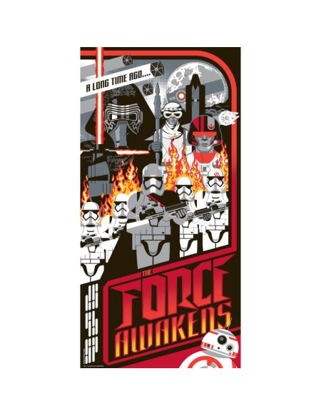 Affiche de Collection par Mark Daniels - Star Wars - I Find Your Lack of Faith Disturbing (305mm x 610mm)