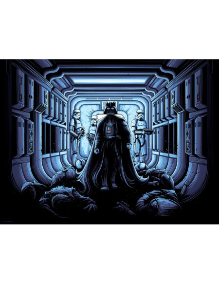 Affiche de Collection par Dan Mumford - Star Wars - I Find Your Lack of Faith Disturbing (450mm x 610mm)