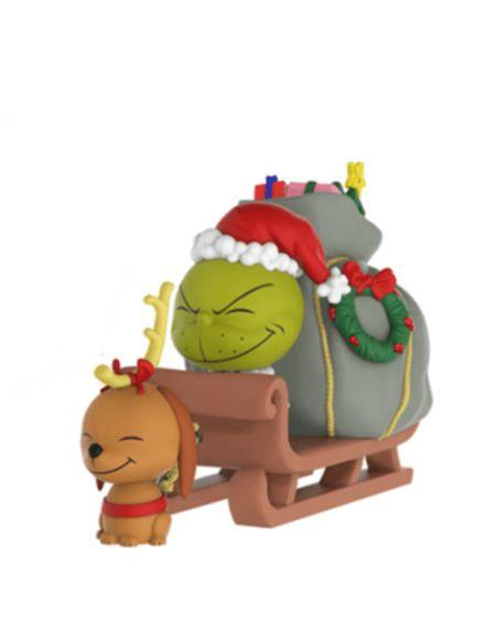 Figurine Dorbz Ridez Le Grinch et Max sur Luge