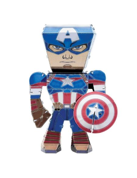 Maquette Marvel Avengers Metal Earth Legends - Captain America