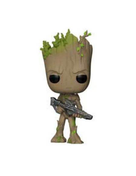 Figurine Pop! Groot Ado avec Pistolet - Marvel Avengers Infinity War