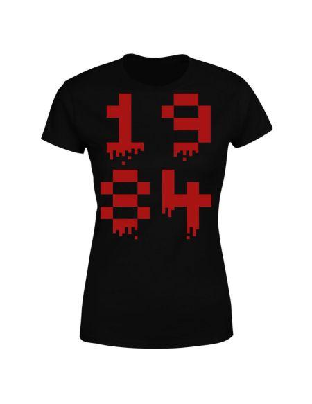 1984 Gaming Women's T-Shirt - Black - S - Noir