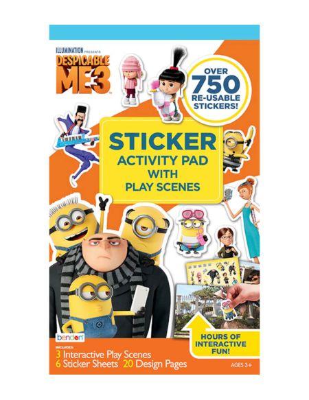 Despicable Me 3 Sticker Play Scene
