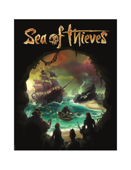 Affiche Sea Of Thieves - Édition Limitée (35.5 cm x 28 cm)