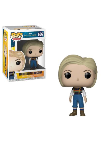 Figurine Pop! 13e Docteur Doctor Who