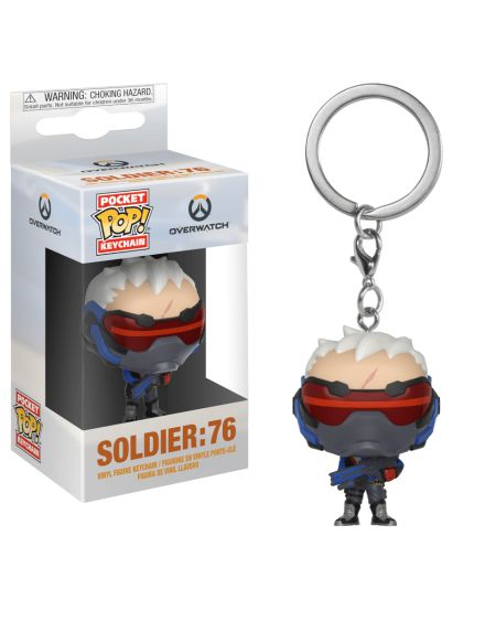 Porte-Clés Pocket Pop! Soldier: 76 - Overwatch