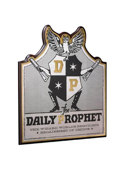 Harry Potter Daily Prophet Wall Plaque