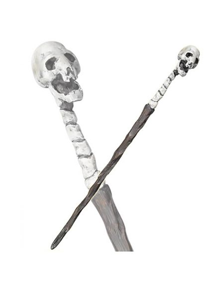 Baguette Magique Mangemort style crâne - Harry Potter The Noble Collection
