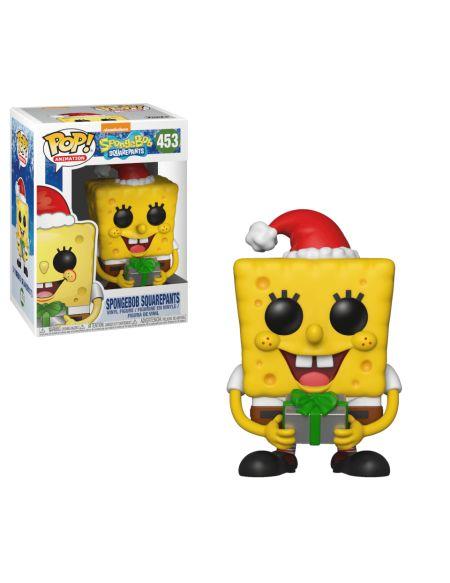 Figurine POP! #453 - Bob l'éponge (Noël)
