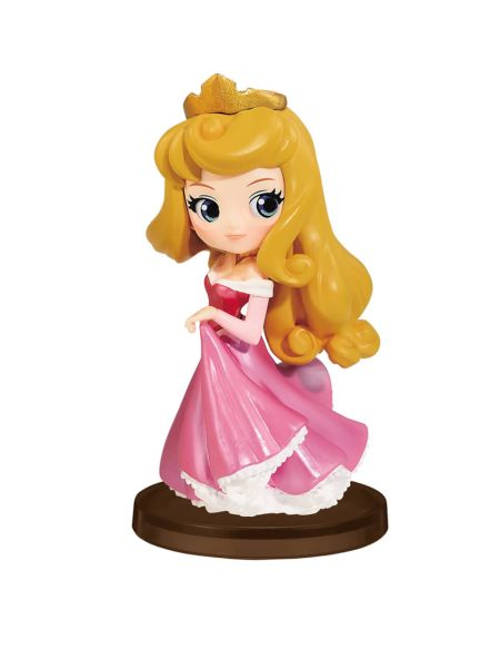Figurine Princesse Aurore, La Belle au Bois Dormant Petit Girls Festival 7 cm Disney - Banpresto Q Posket