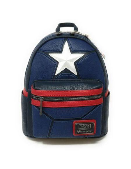 Mini Sac à Dos Loungefly Marvel Captain America Cosplay