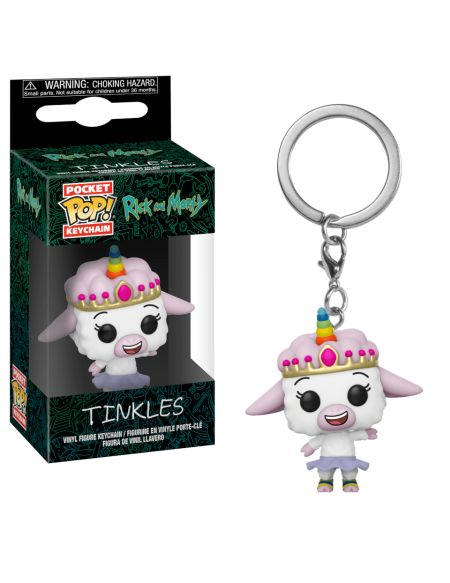 Pop! Keychain Tinkles Rick & Morty