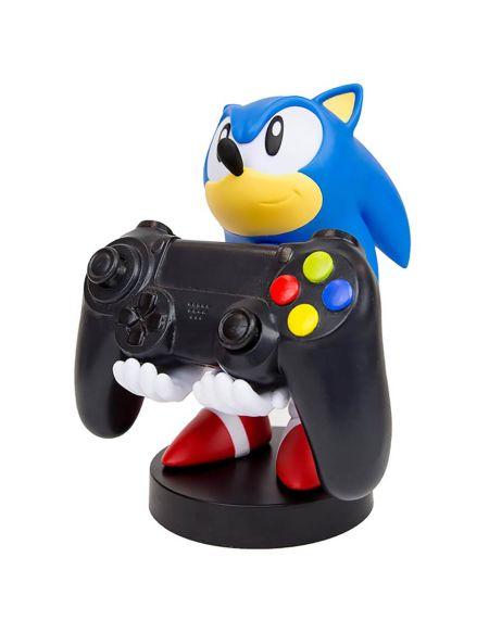 Figurine de support Cable Guy pour manette ou smartphone à collectionner – Sonic the Hedgehog Classic – env. 20cm
