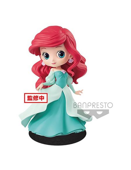 Disney – Figurine Banpresto Q Posket – La Petite sirène – Ariel – 14 cm (Green dress)