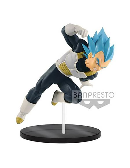 Film Dragon Ball Super – Figurine Banpresto Ultimate Soldiers – Vegeta Super Saiyan God – 18 cm