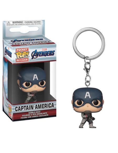 Porte Clé Pop! Keychain Marvel Avengers Endgame - Captain America
