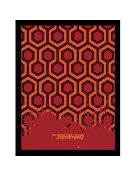 The Shining (Carpet) Framed 30 x 40cm Print